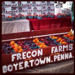 Frecon at Ambler Farmers' Market